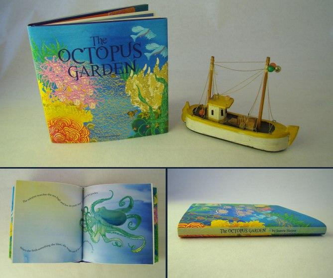 Book cover and spread design