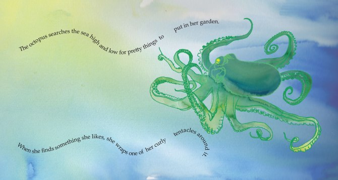 The Octopus Garden double page spread
