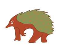 OZ-diggers-LOGO-colour-echidna-only